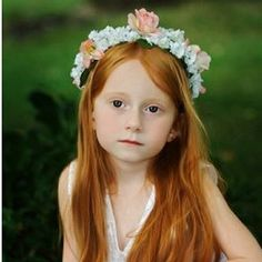 Flower girls are very important in different occasions like weddings; they look so cute in their dresses and the different accessories they make. For a flo