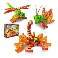 Bloco Toys – Scorpions and Insects