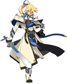 Ky Kiske from Guilty Gear Xrd. I will NEVER be sure if I like this design better than the old one.