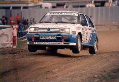 "germancarsblog: "" Volkswagen Golf Rallye G60 rally car """