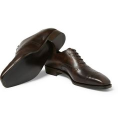 George Cleverley's Anthony Statham Leather Oxford Brogues