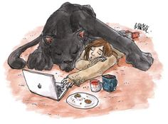 It's getting cold Carmilla Fan art by Maryne