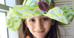 Learn how to make a paper hat using materials you probably have at home right now!