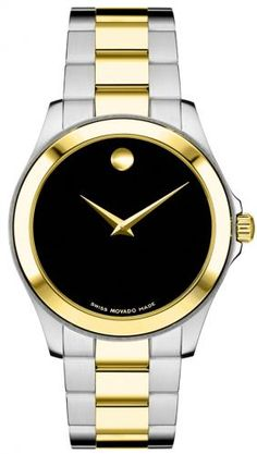 Classy and not overbearing...  Love my Movado.  ⏰  movado watches for men