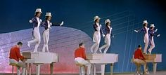 Busby Berkeley East German-style. From the DEFA musical, Midnight Revue.