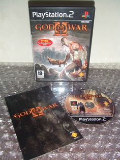 GOD OF WAR II 2  - PS2 ps3 playstation - ITALIANO - Come Nuovo