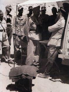 Erwin Rommel and Hermann-Bernhard Ramcke.1942.