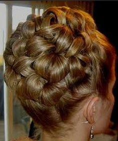 Weeding hairdo