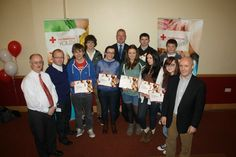 Irish Red Cross Hits the Road with First Youth Awards Youth Programs, Red Cross, Irish, Awards, Irish Language, Ireland