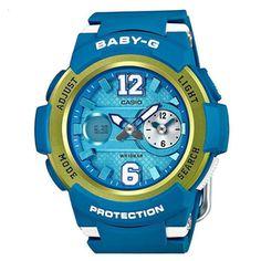 Supergaaf Baby-G horloge van Casio. Exclusief verkrijgbaar bij Kish.nl