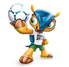 The Mascot of the Soccer World Cup in 2014 which will be in Brazil. O mascote da Copa FIFA 2014 que será no Brasil. É o tatu bola! Brazil World Cup, World Cup 2014, Fifa World Cup, Soccer World, World Of Sports, Armadillo, Octopus Travel, World Cup Tickets, English News Headlines