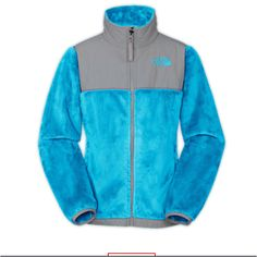 North Face jacket. A really furry, warm one. Probably either black, pink, or grey. Plz & thank you