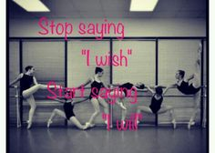 Inspirational dance quote