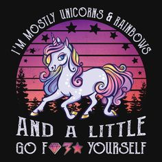 Goofy Quotes, Sarcastic Quotes, Funny Quotes, Unicorn Day, Trill Art, Unicorn Quotes, Sympathy Quotes, Dark Art Drawings, Mood Wallpaper