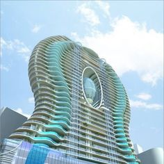 #Mumbai, each balcony has a pool!!!