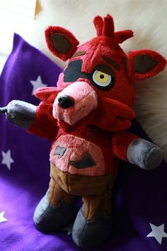 Five Nights at Freddy's Foxy Plush Made to by NightmarenCrafts ...