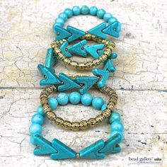 Sedona bracelets  featuring #BeadGallery beads and available at @michaelsstores