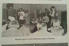 Stevie Ray Vaughan 1971 High School Yearbook  Early Band Blackbird Photo
