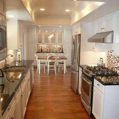Small Galley Kitchen Remodel elegant galley kitchen remodels for your modern kitchen design