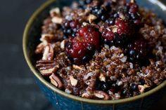 #Warm and Nutty Cinnamon Quinoa Recipe - 101 Cookbooks