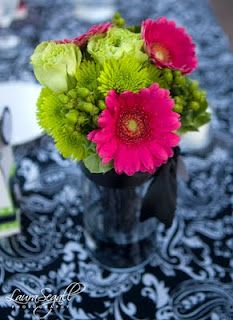 Lime Green and Hot Pink Massachusetts Wedding | Hot pink ...