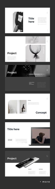 Simple & Minimal Presentation Template #keynote