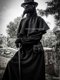 Plague Mask, Plague Doctor Mask, Plague Dr, Plauge Doctor, Doctor Costume, Dark Photography, Photo Reference, Dark Fantasy, Mask Design