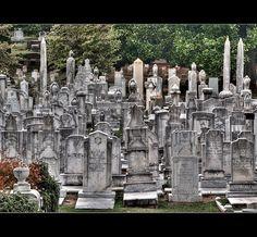 Jewish Section in Atlanta's historic Oakland Cemetery, Georgia
