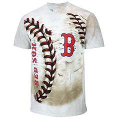 4ec2ed9261d MLB Boston Red Sox Hardball Tie-Dye T-Shirt - Cream Baseball Playoffs