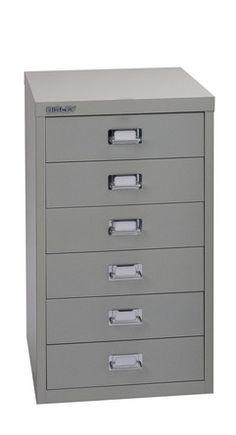 Bisley Multidrawer - 6 drawer cabinet
