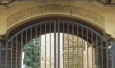 Sheffield School Board Sign ... St Mary's CE Primary School, Cundy Street, Walkley, Sheffield by Terry Robinson, via Geograph