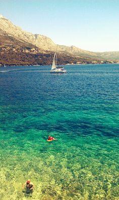Korčula, Croatia / it is  believed that Marco Polo was born in Korcula, 1254  #croatia #hrvatska