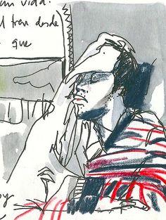 Sleeping in the train. | inma serrano