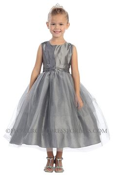 Like the charcoal/ grey - flower girl thoughts