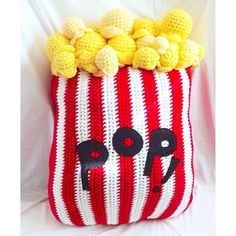 The Inspired #Crochet #Art of Oliviartcreations - popcorn!