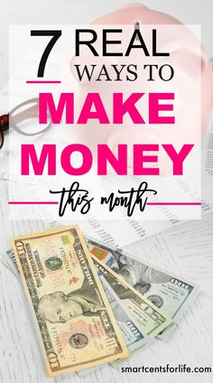 Are you looking to make money fast? These 7 tips will help you earn extra cash. You could make hundreds every month! Follow these simple side hustles working from home! extra income earn money stay at home jobs make money fast extra cash make mo