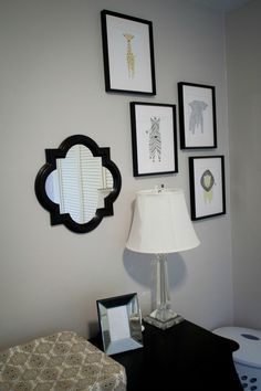 Project Nursery - Graphic Animal Print Gallery Wall