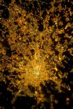 Rome from space photographed by NASA
