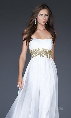 i could dig the GReek Goddess look. not sure how i feel about anything besides the design though. plain