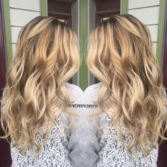 Blonde balayage Ombre. Haircolor. Blonde haircolor. Hairstyles. Perfect hair. Beach waves