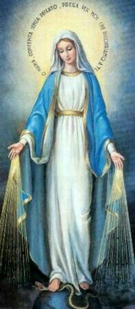 Our Lady of Grace, pray for us. Jesus Mother, Blessed Mother Mary, Blessed Virgin Mary, Religious Images, Religious Art, Immaculée Conception, Image Jesus, Images Of Mary, Queen Of Heaven