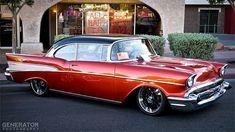 1957 Chevy Bel Air, Chevrolet Bel Air, Chevrolet Camaro, My Dream Car, Dream Cars, My Ride, Hot Cars, Custom Cars, Cars Motorcycles