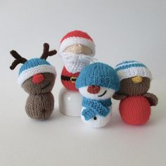 Cheer up your Christmas tree this holiday season with these smaller versions of my popular knitted dolls. You can make them to hang on your tree, to decorate your home, or as little stocking filler gifts.THE PATTERN INCLUDES: Row numbers for each step so you don't lose your place, instructions for making Santa, the snowman, robin and reindeer and their hats, 10 photos, a list of abbreviations and explanation of some techniques, a materials list and recommended yarns.TECHNIQUES: All…