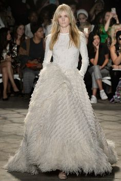 Chistian Siriano New York Fashion Week Ready To Wear SS'16