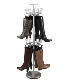 Look what I found on #zulily! Silver 12-Shaper Boot Tree by Household Essentials #zulilyfinds
