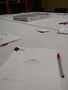 Our first read-through of Scarlet: The Outlaws of Nottingham in 2015
