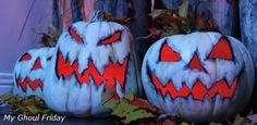 Calabazas decoradas de My Ghoul Friday