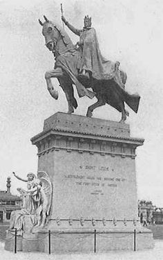 Equestrian Statue, Louisiana Purchase, St Louis Mo, Forest Park, St Louis Cardinals, World's Fair, Saint Charles, Artist Art, Old Photos