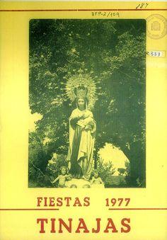 Fiestas en Tinajas (Cuenca), en honor de la la Virgen de la Caridad. Días 11 al 15 de septiembre de 1977. Concursos de baile para parejas de edades comprendidas entre los 18 y los 60 años, con premios en metálico de 500 ptas. #Fiestaspopulares #Tinajas #Cuenca