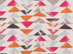 Loki Orange | Loki | Prints and Weaves | VillaNova | Upholstery Fabrics, Prints, Drapes & Wallcoverings